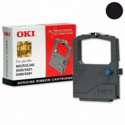 OKI ruban imprimante 5520/5521/5590/5591- Lot de 6 - Distroff